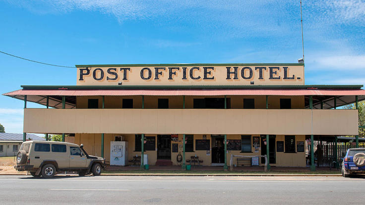 The old Post Office Hotel - Outback Queensland - Cairns Australia