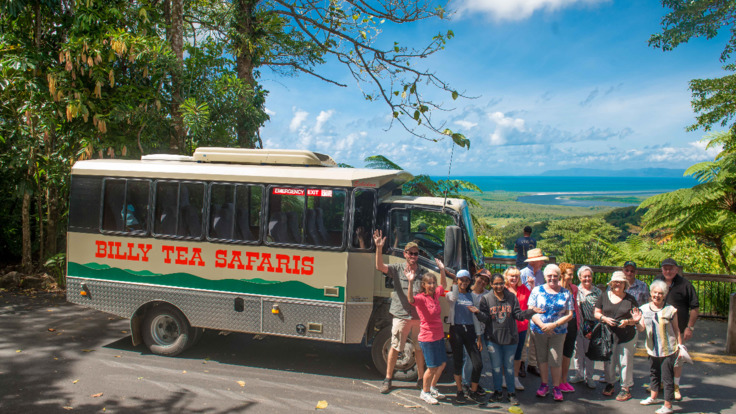 Daintree Cape Tribulation 4WD tour