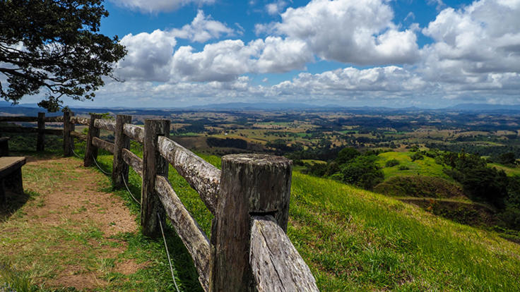Spectacular views of the Atherton Tablelands