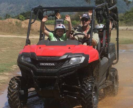 Cairns ATV Buggy ride for Children