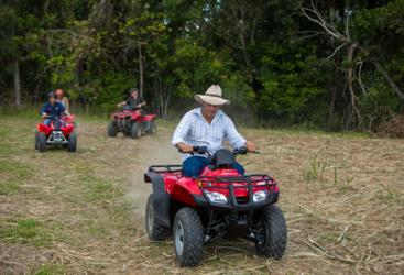 Guided ATV Quad Bike tour in Cairns
