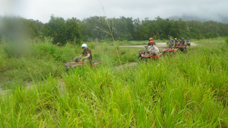 Cairns ATV Quad Bike Tours in the Canefields