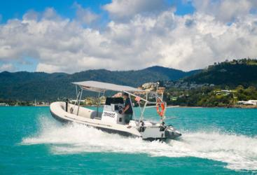 High Speed Zodiac Hurricane Charter Boat | Chance Bay Whitsunday Islands
