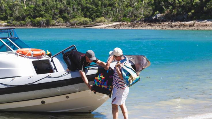 Visit the Whitsunday Islands & Picnic on the Beach