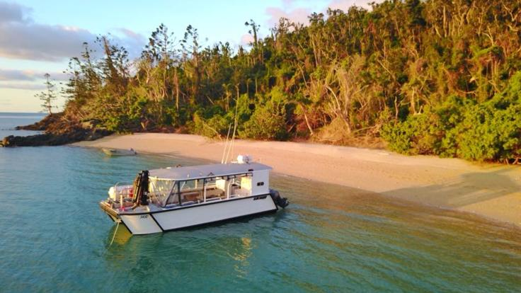 Book a private charter sunset cruise from Hamilton Isand and Airlie Beach