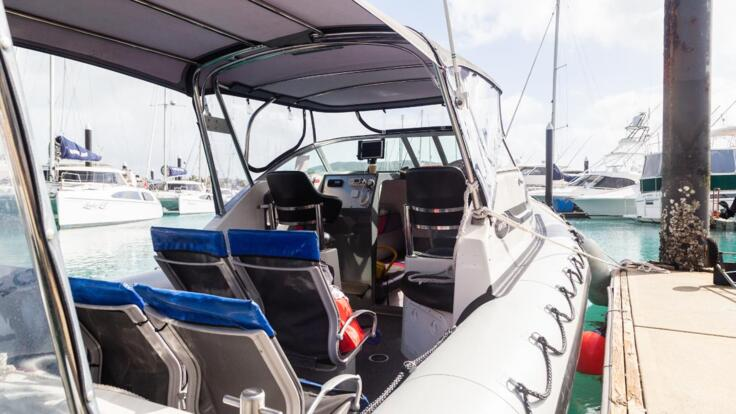 Boar Charter Airlie Beach - Seats in Boat