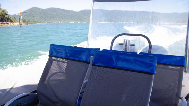 Seating onboard | Whitehaven Charter Boat