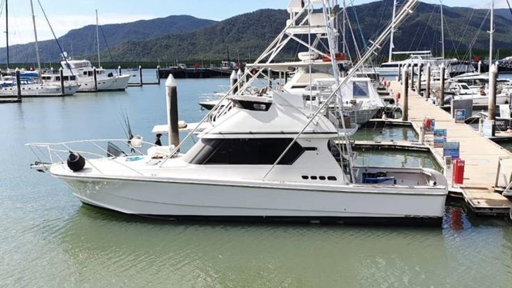 Private Charter Boat at Cairns Marina