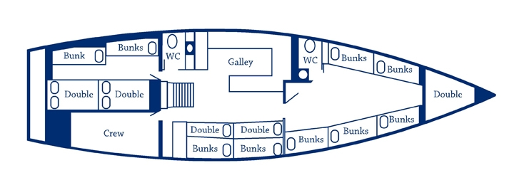 Broomstick Floorplan