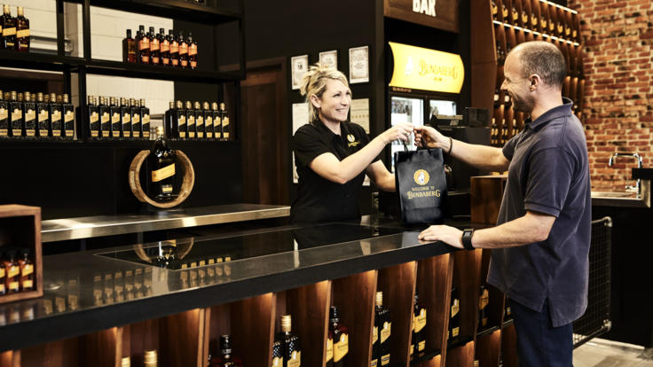 Sample Bundaberg Rum after your tour