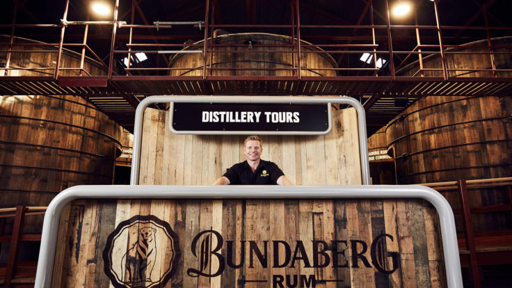 Bundaberg Rum Distillery Tours