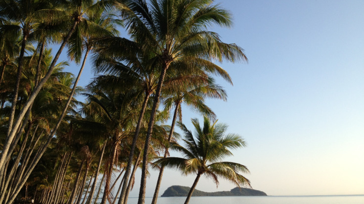 Palm Cove Beach - Double Island - Great Barrier Reef