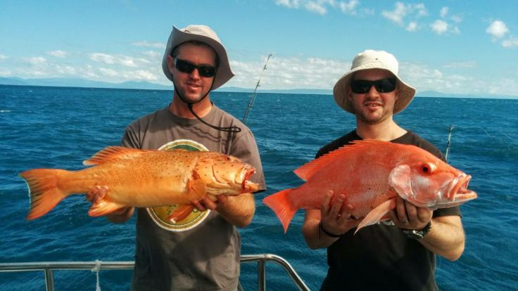 Full Day Tropical North Queensland fishing charter from Cairns
