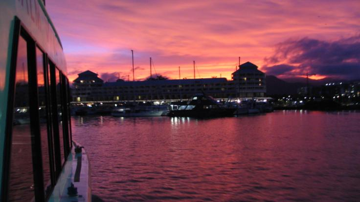 Cairns private charter sunset cruise