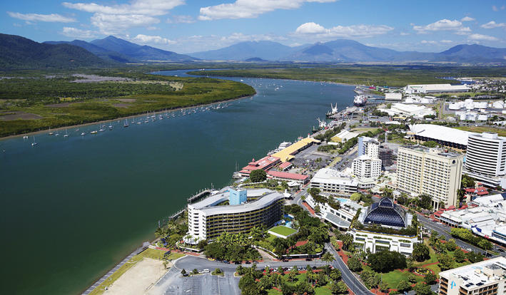 Cruise around beautiful Cairns