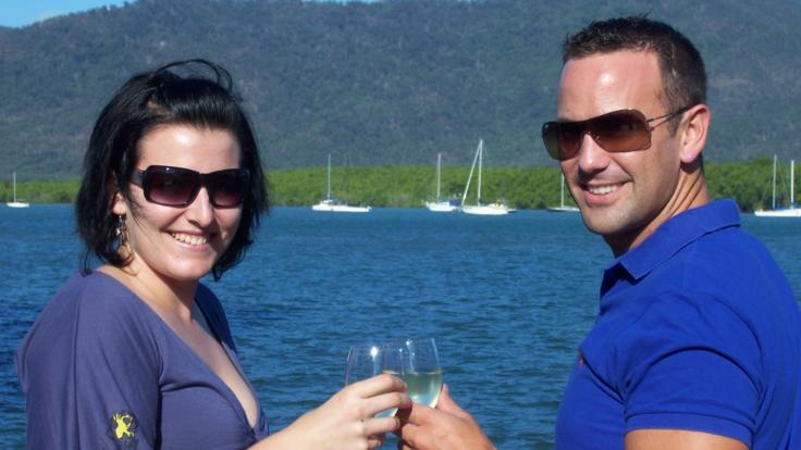 Drinks and canapes on Cairns harbour cruise