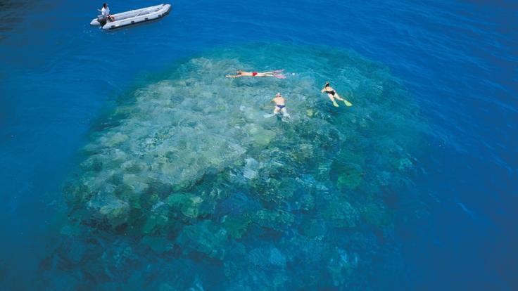 Snorkel and scuba dive remote reefs