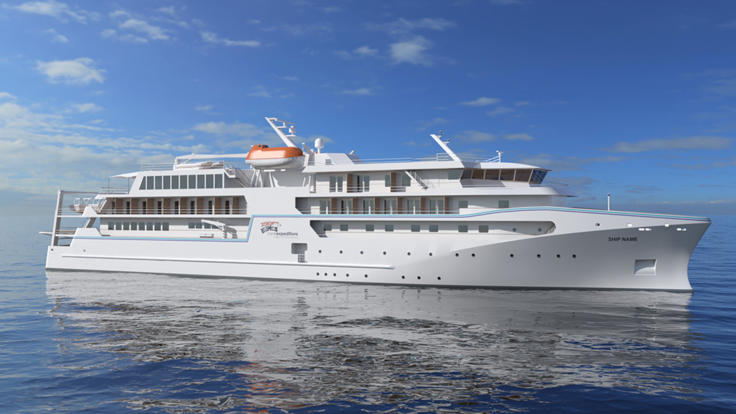 Luxury Special Expedition Style Great Barrier Reef Cruise Ship