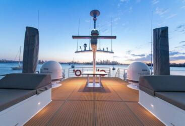 Superyacht Charters Australia - Top Deck