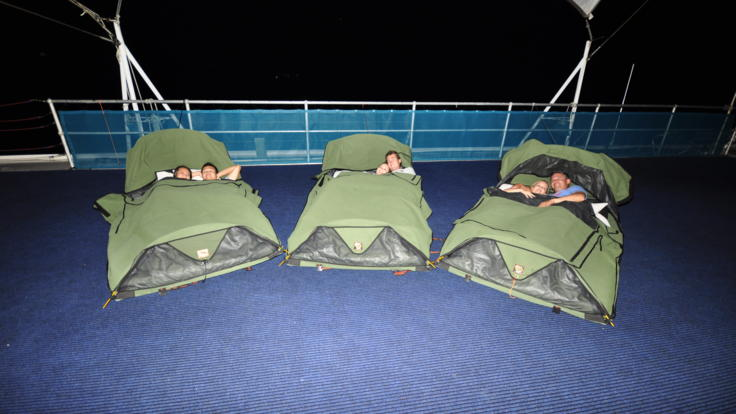 Sleep on the Great Barrier Reef in the Whitsundays