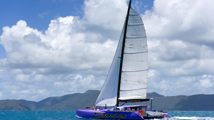 Cannot miss our Whitsundays sail boat