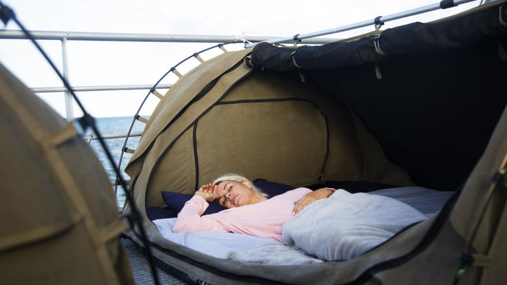 Sleep On The Great Barrier Reef
