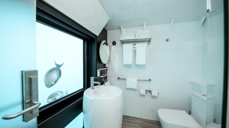 Bathroom | Overnight Accommodation on the Great Barrier Reef