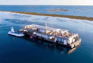 Reef Sleep Pontoon Whitsundays