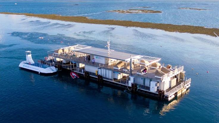 Luxury New Tour - Reef Sleep Pontoon Whitsundays