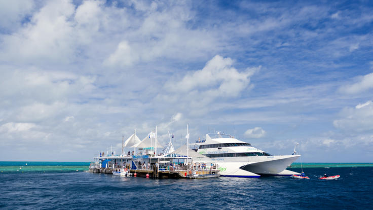 The ultimate outer Great Barrier Reef Pontoon tour in the Whitsundays