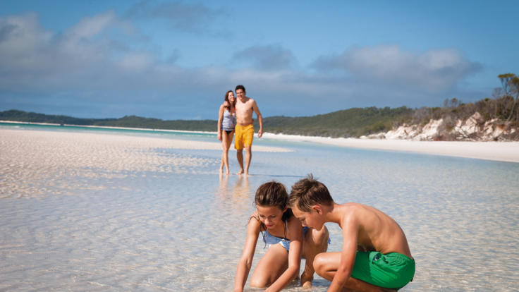 Whitehaven Beach Tours - A perfect tour for families to enjoy Whitehaven Beach