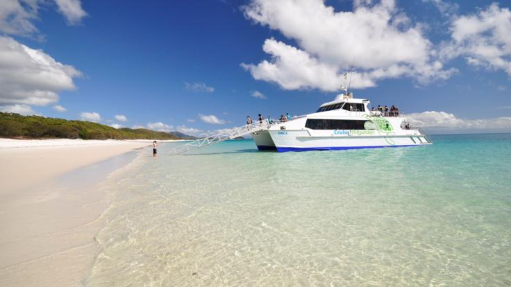 Whitehaven Beach Tours - Whitehaven Beach Transfer Boat Orca