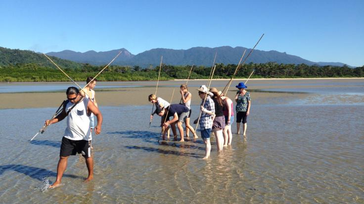 Hunting and fishing techniques on Indigenous cultural tour, Tropical North Queensland