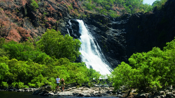 Cape York waterfalls accessible on helicopter flights