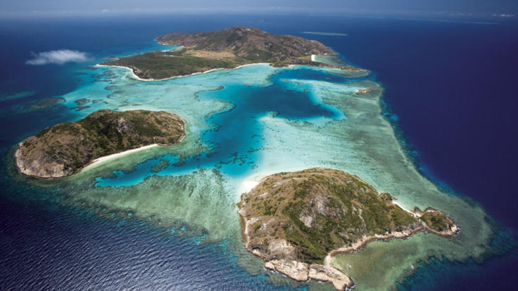 Aerial views to Lizard Island