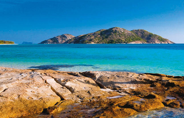Stunning Lizard Island beaches with turquoise water