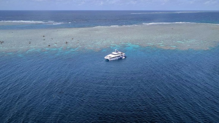 Aerial Views Agincourt Ribbon Reef Great Barrier Reef Australia