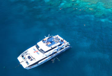 Aerial views of Australia's Great Barrier Reef | Daily Reef Trips
