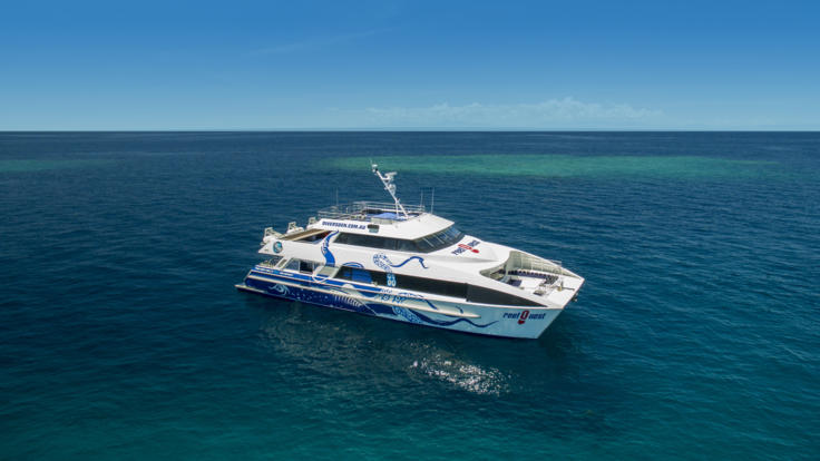 Modern Great Barrier Reef Boat | Departs Daily