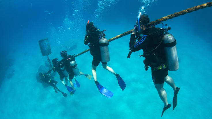The Best Place to Learn to Scuba Dive