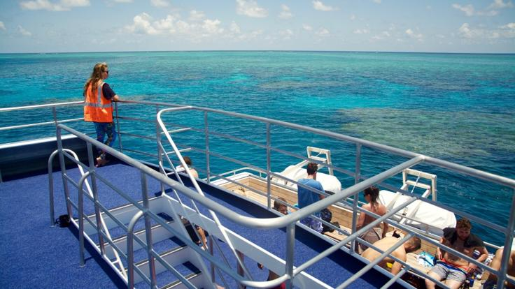 Great Barrier Reef Day Boat | Sun Deck