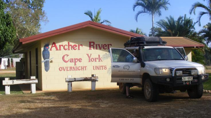 Archer River in Cape York Australia - 4WD tours