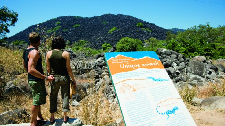 Explore Black Mountain on our Cape York Tour