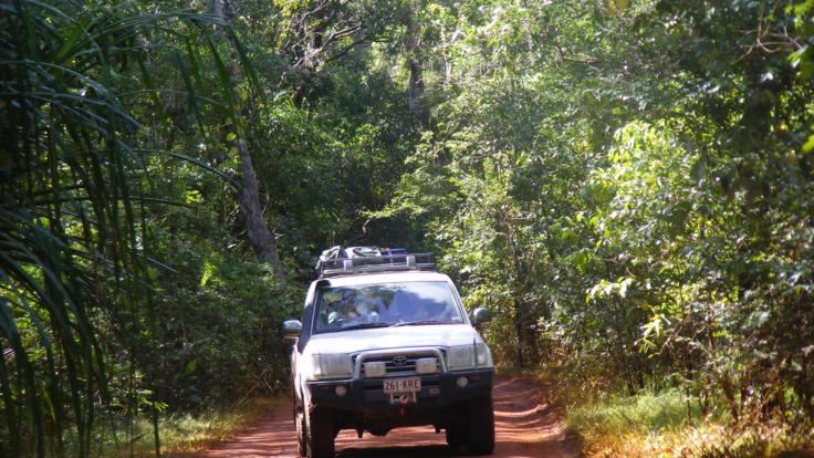 Our Cape York four wheel drive safari truck