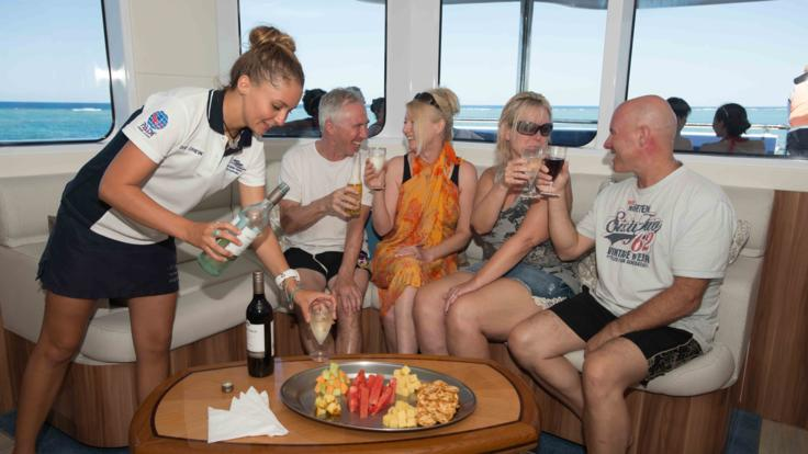 Great Barrier Reef VIP Lounge | Up To 8 Guests