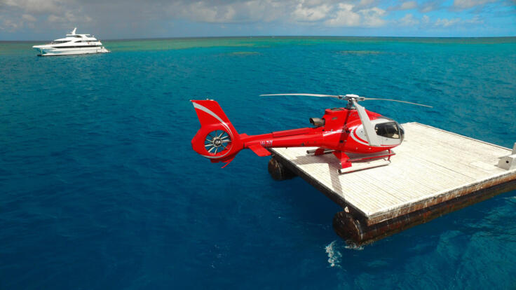 Cairns Reef Tours - Fly Out to the Reef in Helicopter