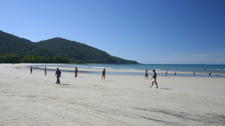 Stunning tropical beaches Cape Tribulation