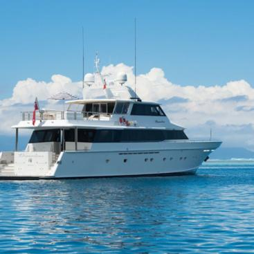 Luxury Motor Yacht Charters on the Great Barrier Reef