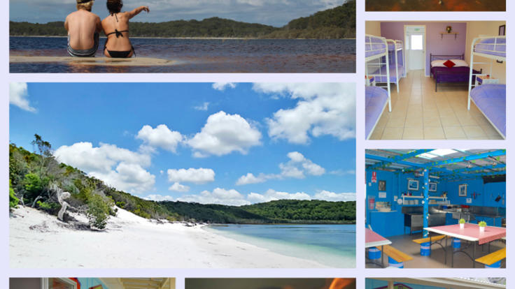 Fraser island is a perfect spot for an adventurous island holiday