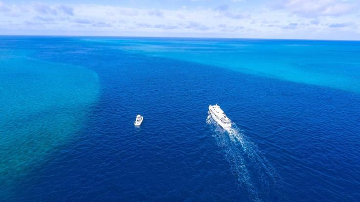 Explore remote locations on an extended liveaboard charter - Great Barrier Reef